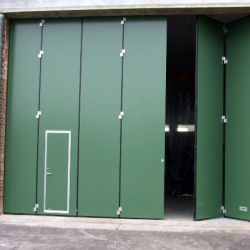 Some of the Different Types of Industrial Doors You May Come Across