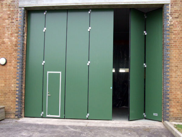 Some Of The Different Types Of Industrial Doors You May