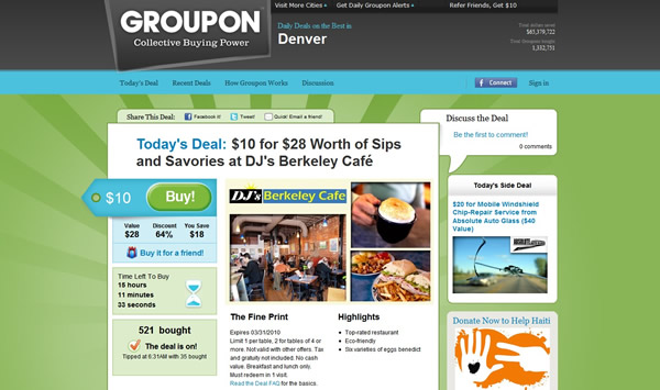 How Groupon Coupons Could Change Consumers' Online Shopping